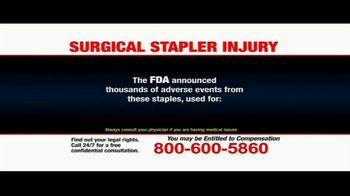 Pulaski Law Firm TV Spot, 'Surgical Stapler Injury' - Thumbnail 3