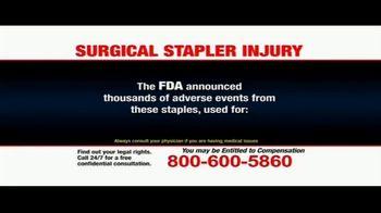 Pulaski Law Firm TV Spot, 'Surgical Stapler Injury' - Thumbnail 4