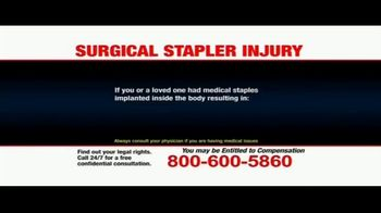 Pulaski Law Firm TV Spot, 'Surgical Stapler Injury' - Thumbnail 6