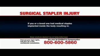Pulaski Law Firm TV Spot, 'Surgical Stapler Injury' - Thumbnail 7