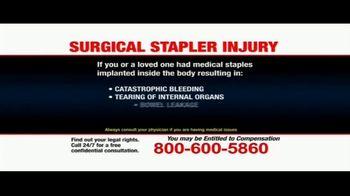 Pulaski Law Firm TV Spot, 'Surgical Stapler Injury' - Thumbnail 8