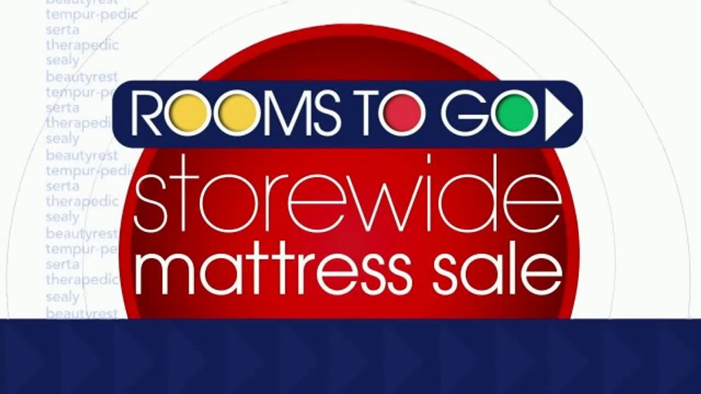 Rooms To Go Storewide Mattress Sale Tv Commercial Adjustable