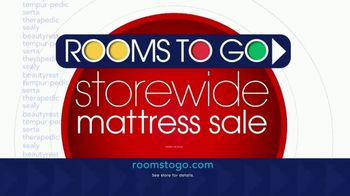 Rooms to Go Storewide Mattress Sale TV Spot, 'Adjustable Base and Mattress' - Thumbnail 9