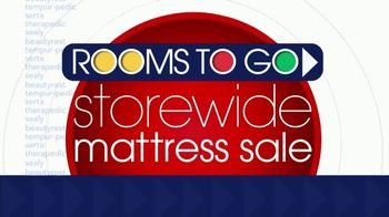 Rooms to Go Storewide Mattress Sale TV Spot, \'Adjustable Base and Mattress\'