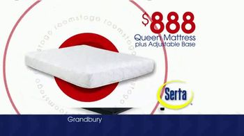 Rooms to Go Storewide Mattress Sale TV Spot, 'Adjustable Base and Mattress' - Thumbnail 3