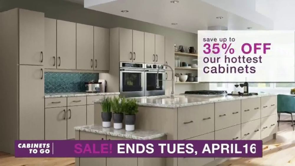Cabinets To Go TV Commercial, 'Dream Kitchen: 35 Percent'