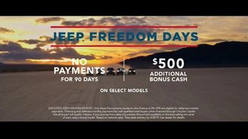 Jeep Freedom Days TV Spot, 'A Name Earned' Song by The Kills [T2] - Thumbnail 7