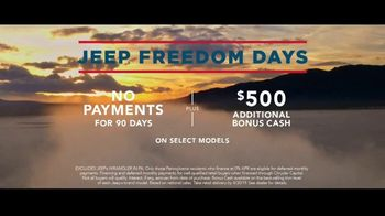 Jeep Freedom Days TV Spot, 'A Name Earned' Song by The Kills [T2] - Thumbnail 8