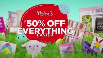 Michaels Easter Extravaganza TV Spot, 'Bunny-Approved Basket Stuffers' - Thumbnail 4