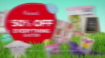 Michaels Easter Extravaganza TV Spot, 'Bunny-Approved Basket Stuffers' - Thumbnail 5