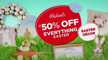 Michaels Easter Extravaganza TV Spot, 'Bunny-Approved Basket Stuffers' - Thumbnail 6