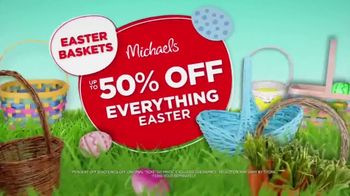 Michaels Easter Extravaganza TV Spot, 'Bunny-Approved Basket Stuffers' - Thumbnail 7