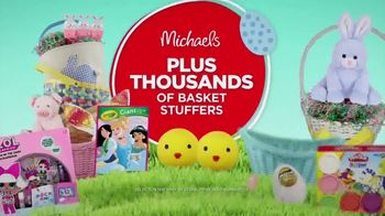 Michaels Easter Extravaganza TV Spot, 'Bunny-Approved Basket Stuffers' - Thumbnail 8