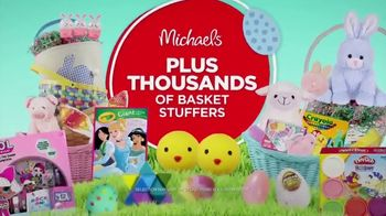 Michaels Easter Extravaganza TV Spot, 'Bunny-Approved Basket Stuffers' - Thumbnail 9
