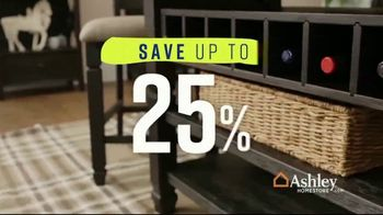Ashley HomeStore Spring Home Event TV Spot, 'One Final Week: Tyler Creek' Song by Midnight Riot - Thumbnail 4