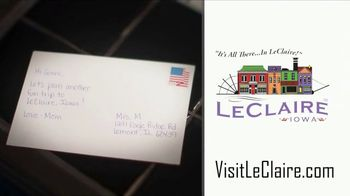 LeClaire, Iowa TV Spot, 'Postcard' - Thumbnail 10