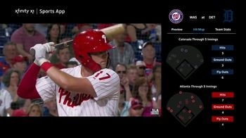 XFINITY MLB Extra Innings TV Spot, 'Home Plate Heroics' - 21 commercial airings