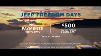 Jeep Freedom Days TV Spot, 'No Wannabes: 2019 Compass' Song by The Kills [T2] - Thumbnail 8