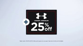 Kohl's TV Spot, 'Under Armour Tops and adidas Shoes' - Thumbnail 3
