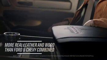 Ram Trucks Spring Sales Event TV Spot, 'Leading Interior Comfort' [T2] - Thumbnail 4