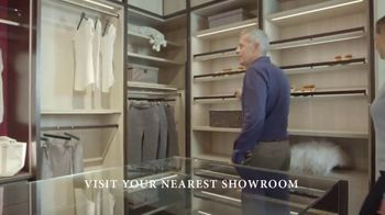 California Closets Lighting & Accessories Sales Event TV Spot, 'Custom Storage Solution' - Thumbnail 2