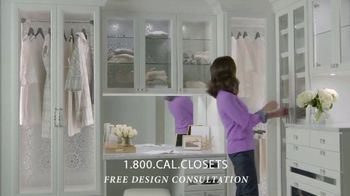 California Closets Lighting & Accessories Sales Event TV Spot, 'Custom Storage Solution' - Thumbnail 4