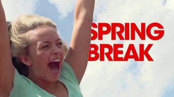 Six Flags TV Spot, 'Spring Break: Save $25' - Thumbnail 3