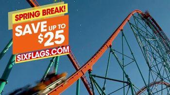 Six Flags TV Spot, 'Spring Break: Save $25' - Thumbnail 8