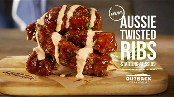 Outback Steakhouse Steak & Ribs TV Spot, 'Two Parts Incredible: Aussie Twisted Ribs' - Thumbnail 8