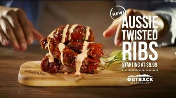 Outback Steakhouse Steak & Ribs TV Spot, 'Two Parts Incredible: Aussie Twisted Ribs' - Thumbnail 7