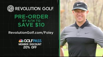 Revolution Golf TV Spot, 'Foley Factor Short Game' - Thumbnail 10