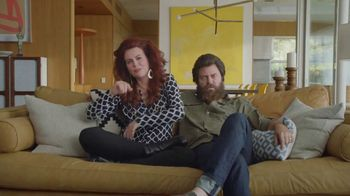 Sling TV Spot, 'First Timers' Featuring Nick Offerman, Megan Mullally - Thumbnail 2