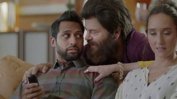 Sling TV Spot, \'First Timers\' Featuring Nick Offerman, Megan Mullally