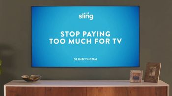 Sling TV Spot, 'First Timers' Featuring Nick Offerman, Megan Mullally - Thumbnail 9
