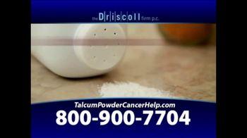 The Driscoll Firm TV Spot, 'Talcum Powder and Ovarian Cancer' - Thumbnail 1