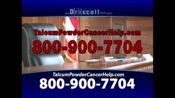 The Driscoll Firm TV Spot, 'Talcum Powder and Ovarian Cancer' - Thumbnail 4