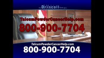 The Driscoll Firm TV Spot, 'Talcum Powder and Ovarian Cancer' - Thumbnail 5