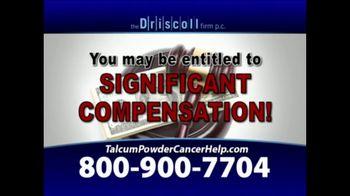 The Driscoll Firm TV Spot, 'Talcum Powder and Ovarian Cancer' - Thumbnail 7