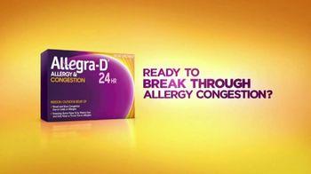 Allegra-D TV Spot, 'Dual Action: Tennis' - Thumbnail 1