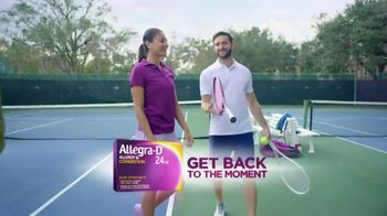 Allegra-D TV Spot, 'Dual Action: Tennis' - Thumbnail 7