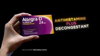 Allegra-D TV Spot, 'Dual Action: Tennis' - Thumbnail 3