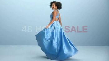 Macy's 48 Hour Sale TV Spot, 'Prom Dresses, Shoes & Luggage' - Thumbnail 1