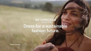 H&M 2019 Conscious Collection TV Spot, 'Dress for a Sustainable Fashion Future' Featuring Rosario Dawson - 787 commercial airings