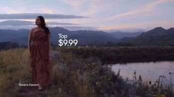 H&M 2019 Conscious Collection TV Spot, 'Dress for a Sustainable Fashion Future' Featuring Rosario Dawson - Thumbnail 6