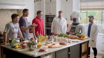 H-E-B TV Spot, 'Houston Astros: Robot Chef' Featuring José Altuve, George Springer - Thumbnail 1