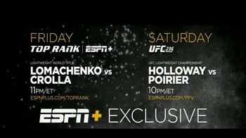 ESPN+ TV Spot, 'UFC 236 & Top Rank Boxing' - Thumbnail 9