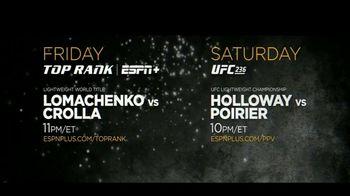 ESPN+ TV Spot, 'UFC 236 & Top Rank Boxing' - Thumbnail 8