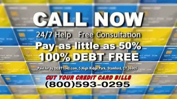 Debt Helpline TV Spot, 'Credit Card Bills' - Thumbnail 6
