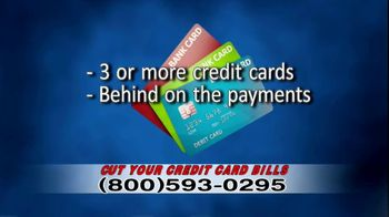 Debt Helpline TV Spot, 'Credit Card Bills'