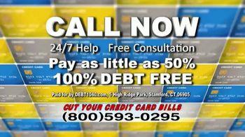 Debt Helpline TV Spot, 'Credit Card Bills' - Thumbnail 5